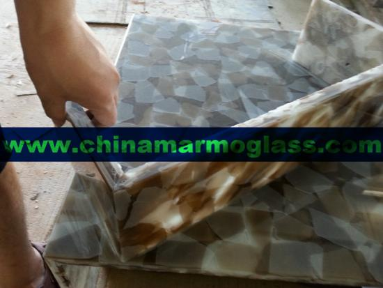 China Supply Colorfull Jade Glass Crystallized Onyx Stone Tiles and Slabs