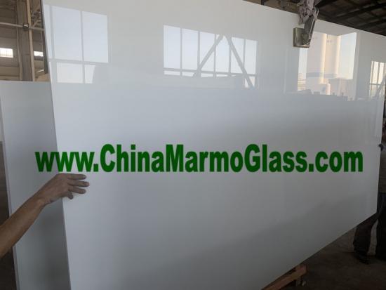 Super White Glass Slabs 2860x1640x18mm