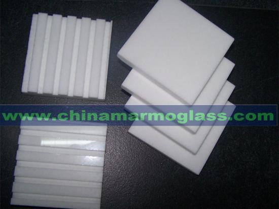 White Glass Thasos Tile the Neoparies Tiles