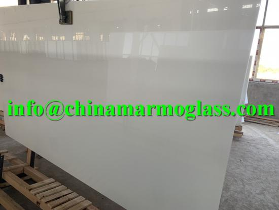 Nano White Slab White Nano Crystallized Glass