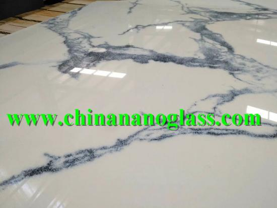 Marmo Calacatta Glass Stone Slab