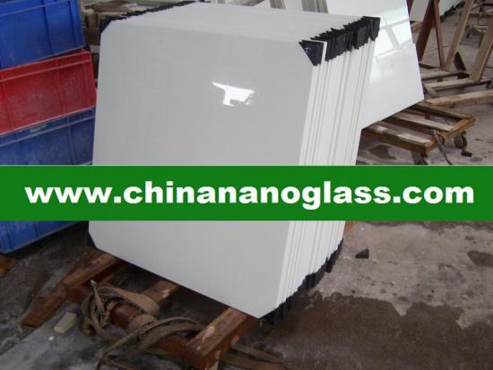 Best White Glassos Crystallized Glass Tile