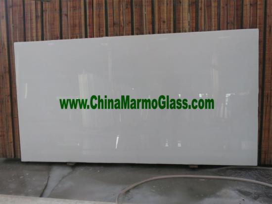 Pure White Crystallized Stone Slabs 240x120x2CM