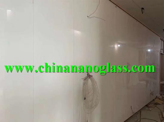 Artificial Stone Super Nano Glass White Tiles for Interior Wall Floor