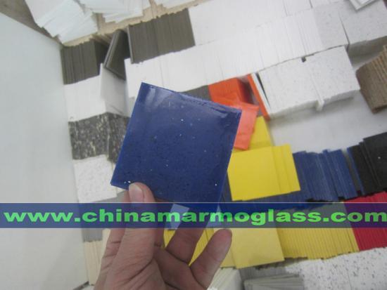Amazing Shining Blue Quartz Countertops Kitchentops In Low Cost