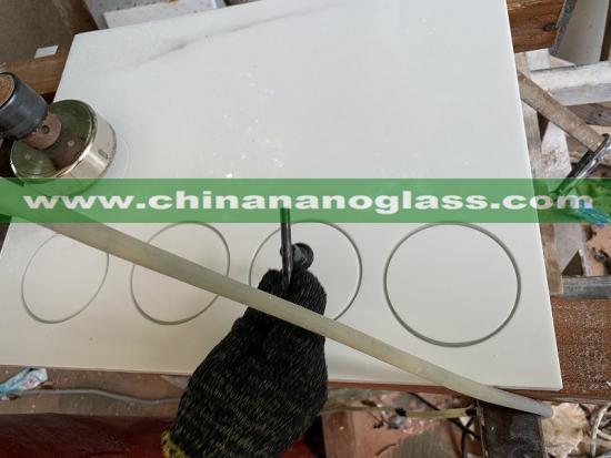 Nano Glass Kitchen Countertop Sink Hole Basin Hole