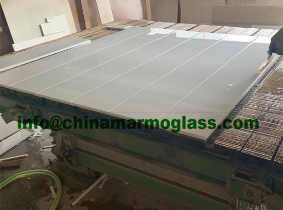 Absolute White Nano Crystal White Glass Stone Nano White