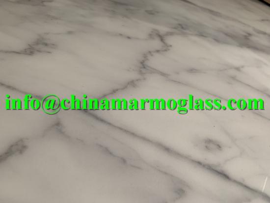 Carrara White Nano Glass Stone