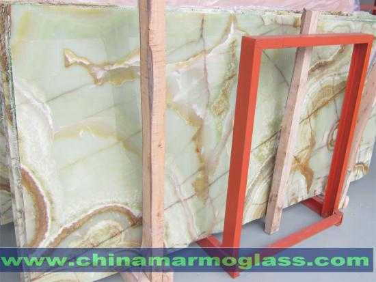 Green Onyx Stone Slab and Tile