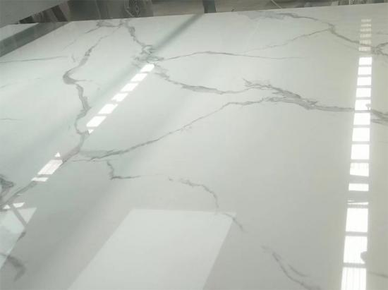 Hot Sale artificial white marble stone slab 2400x1600mm
