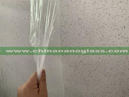 Crystal Galaxy White Quartz Stone for Kitchen Countertop