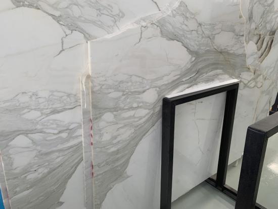 White Marble Calacatta Slabs For Backsplash
