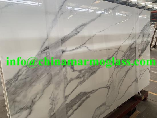Calacatta White Nanoglass Stone