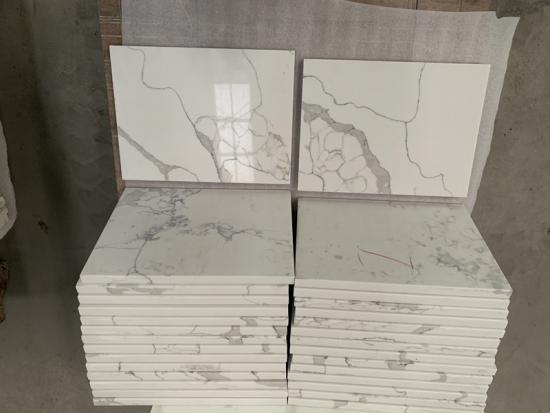 Calacatta Quartz Countertops VS Carrara Quartz Slabs