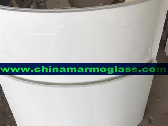 Twinkling Nano glass crystallized glass column for Cladding