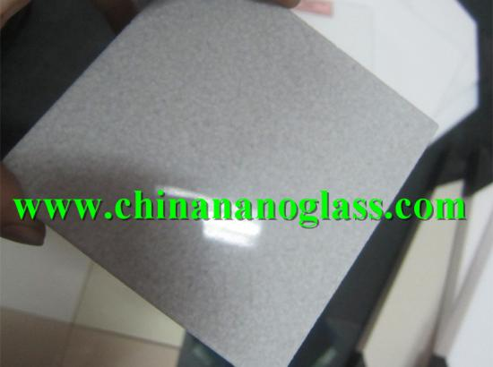Grey Crystallized Marmo Glass