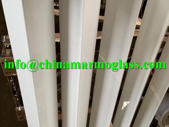High Quality Micro White Crystallized Glass Stone
