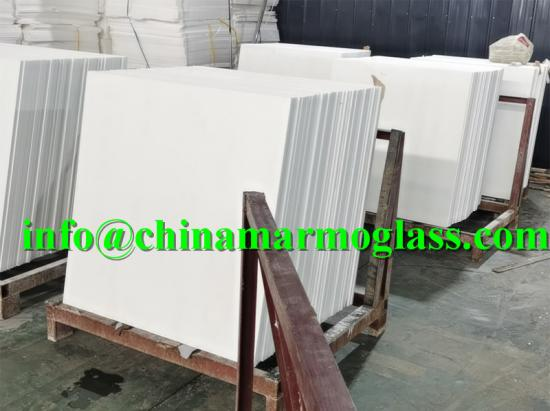 Marmo Glass White Tile 1000x1000mm