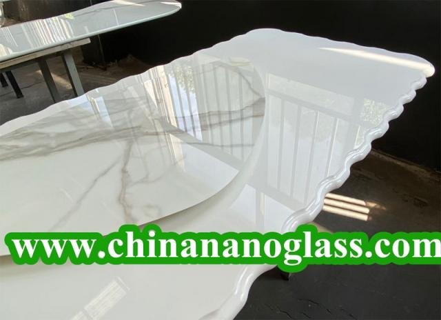 Luxury Nano Glass Table Tops