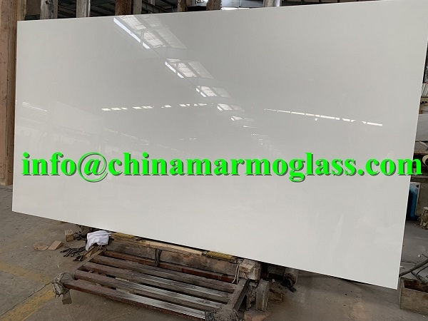 Marmo Glass Calacatta Color Slab