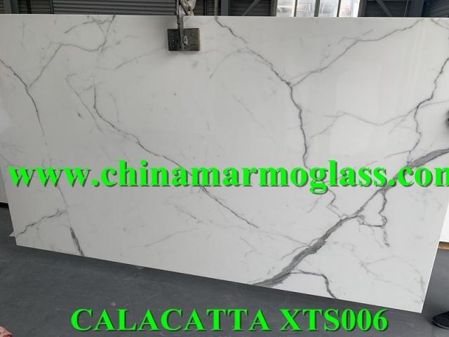 CALACATTA NANOGLASS XTS006