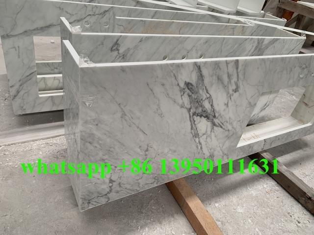 New Nanoglass Carrara White Countertops project to USA market