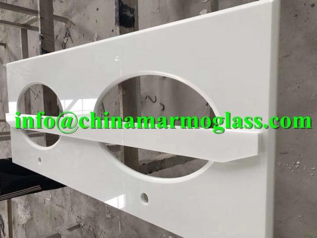 Beautiful Calacatta Artifical Marble Countertops